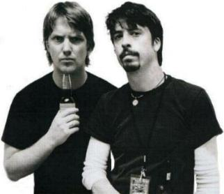 Josh Homme et Dave Grohl